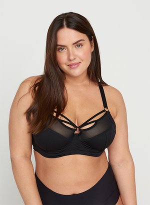 FREJA - Underwired bra - black