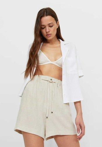 RUSTIC - Shorts - beige