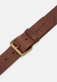 Barbour - CONTRAST BELT - Belt - olive/brown - 3