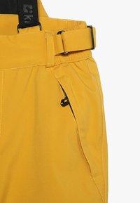 Killtec - GAUROR UNISEX - Zimní kalhoty - gebranntes gelb - 3