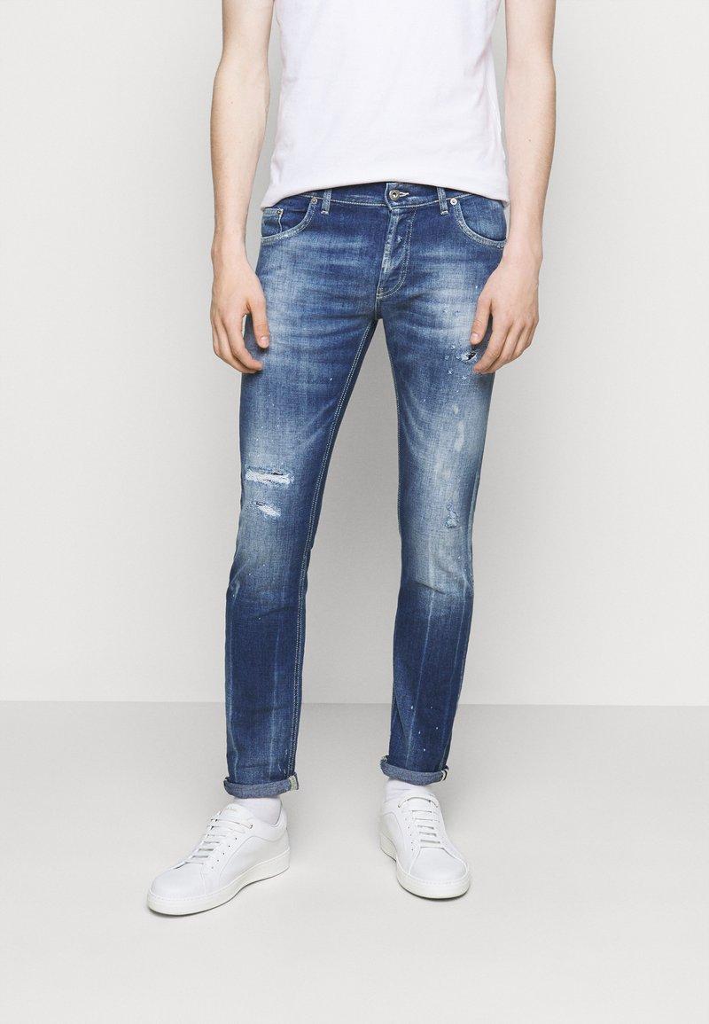 Dondup - BRADY PANT - Slim fit jeans - blue