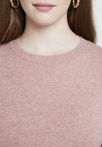 JDY - JDYMARCO DRESS - Strikket kjole - polignac/melange - 4