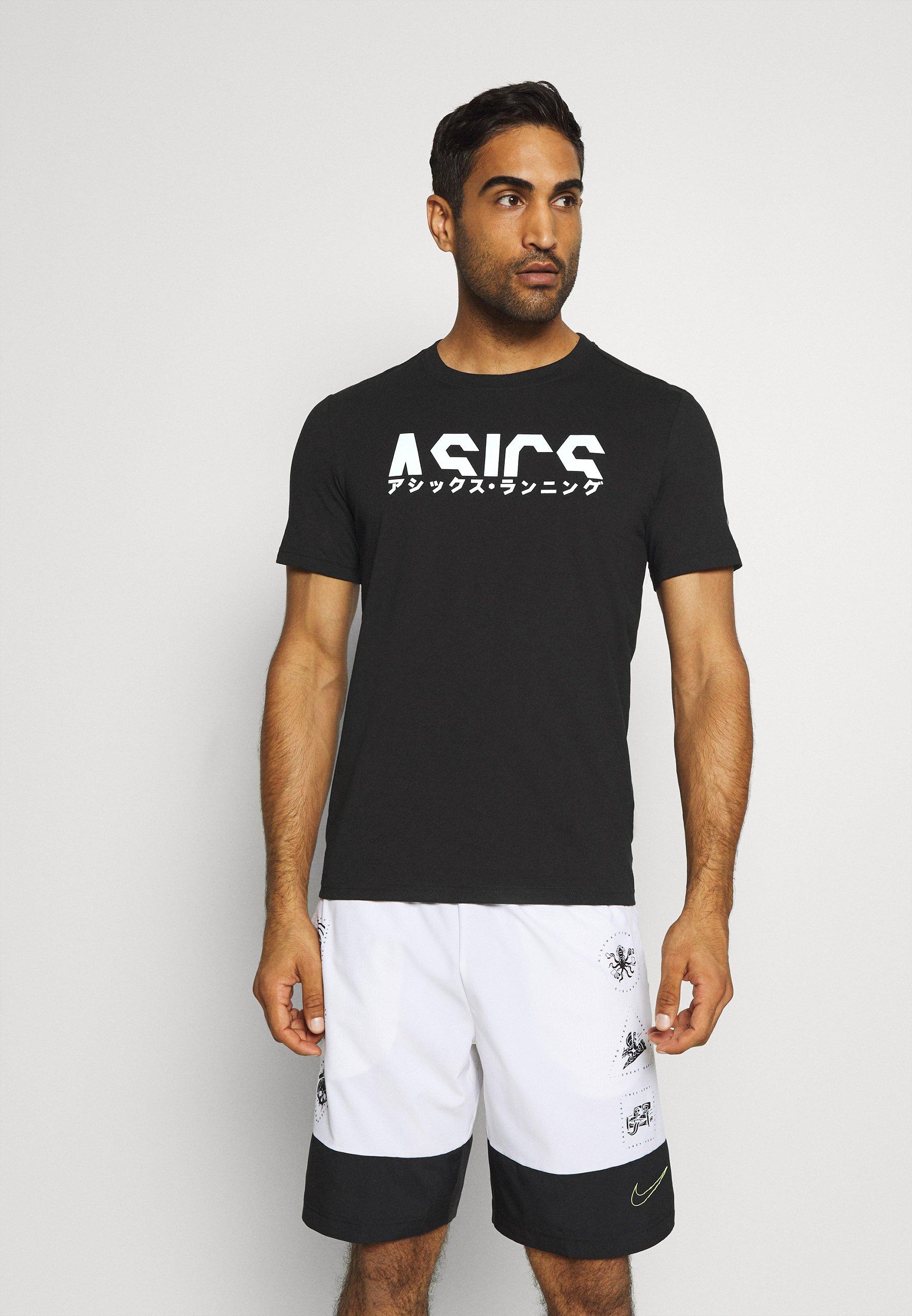 Men KATAKANA GRAPHIC TEE - Print T-shirt