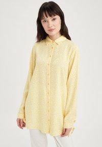 DeFacto - Button-down blouse - yellow - 5