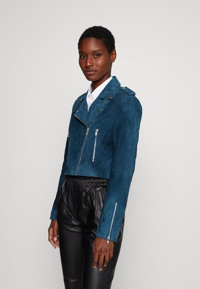 YASSOU - Leather jacket - amazonie