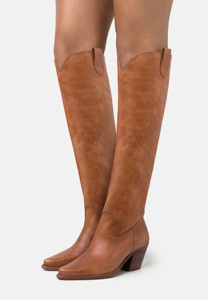 LAREDO - Over-the-knee boots - tierra