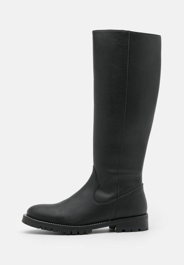 LOU - Høje støvler/ Støvler - black
