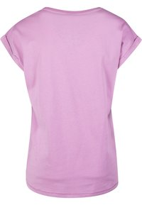 Urban Classics - EXTENDED SHOULDER TEE - Basic T-shirt - coolpink - 7