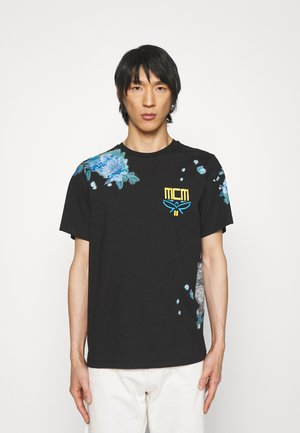 COLLECTION SHORT SLEEVES TEE - Print T-shirt - black