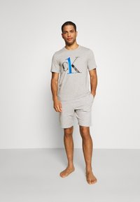 Calvin Klein Underwear - SLEEP SHORT - Pyjama bottoms - grey - 1