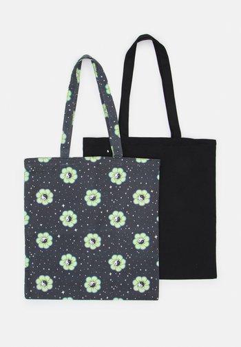 TOTEBAG 2 PACK - Shopping bag - black