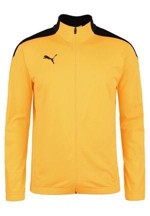 FTBLNXT KNIT TRAININGSJACKE HERREN - Training jacket - puma black / ultra yellow