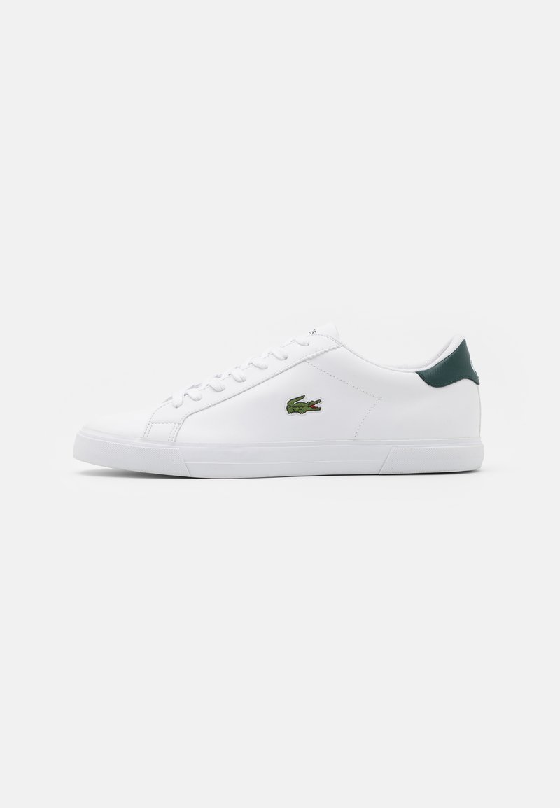 Lacoste - LEROND - Trainers - white/dark green