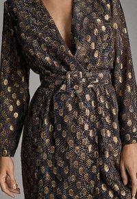 Massimo Dutti - MIT GLANZ  - Robe de soirée - dark grey - 6