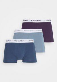 LOW RISE TRUNK 3 PACK - Culotte - purple/sea tropic/seashore