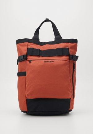 PAYTON CARRIER BACKPACK - Zaino - cinnamon/black