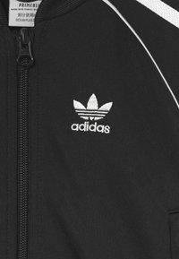 adidas Originals - TRACKSUIT SET UNISEX - Tuta - black/white - 3