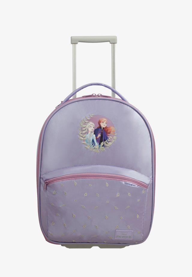 DISNEY ULTIMATE - Wheeled suitcase - mottled lilac