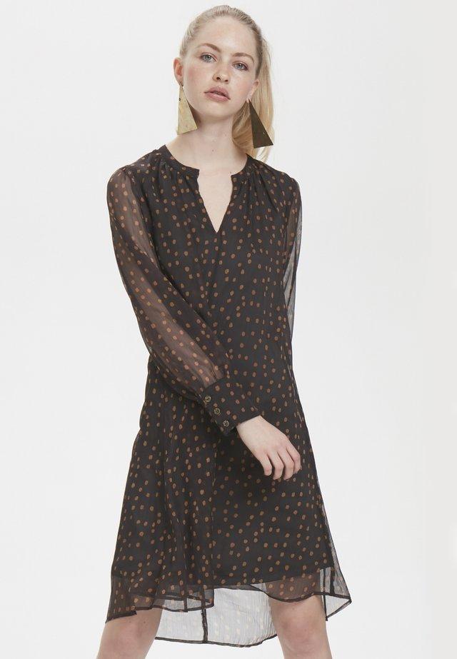 DHKATY - Robe d'été - dark brown