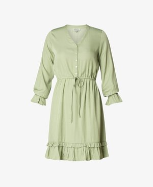 Shirt dress - soft green