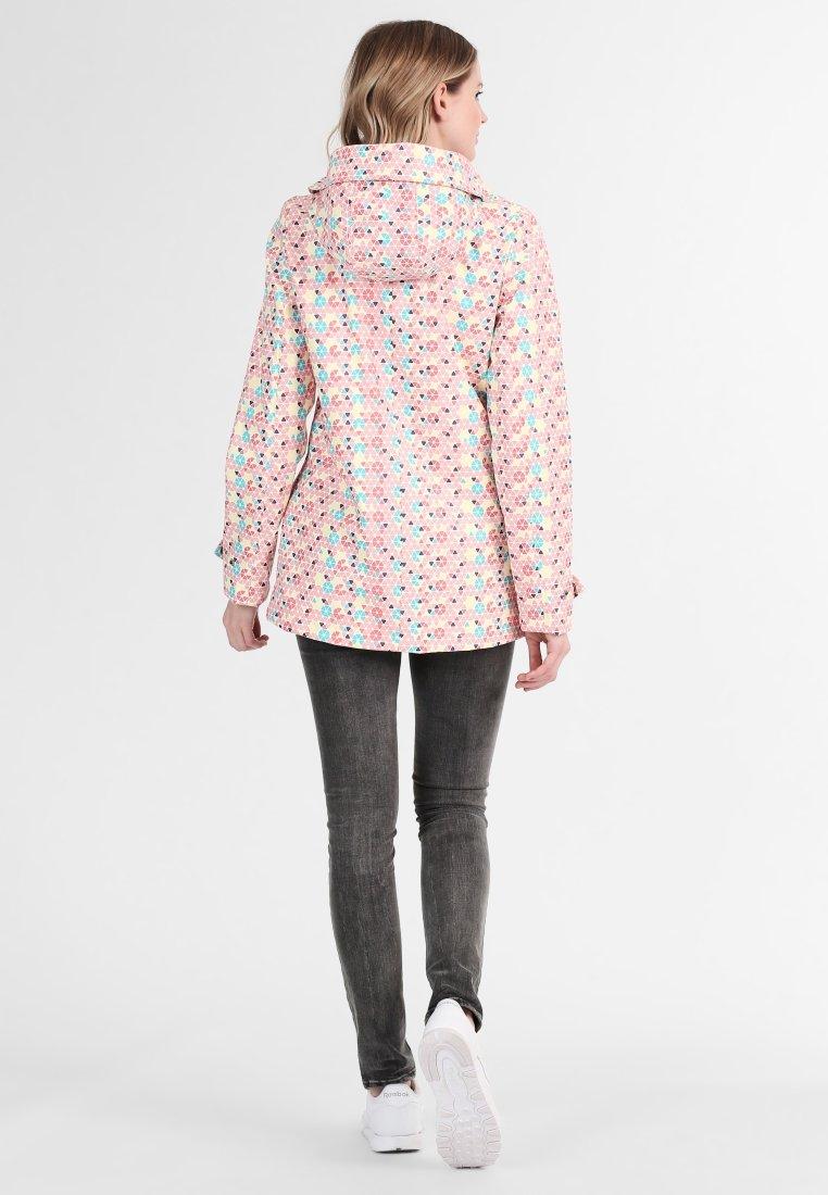 Schmuddelwedda Regenjacke / wasserabweisende Jacke - rose/turquoise | Damenbekleidung billig