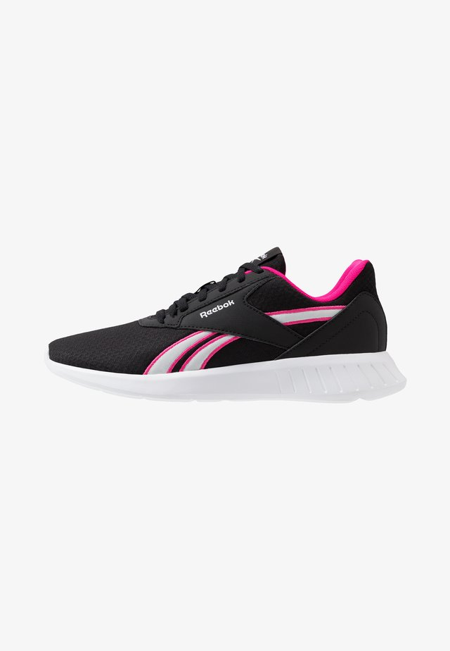 LITE 2.0 - Scarpe running neutre - black/pink/white