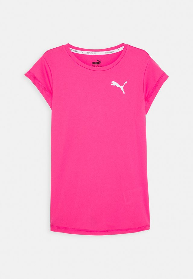 ACTIVE TEE - Basic T-shirt - glowing pink