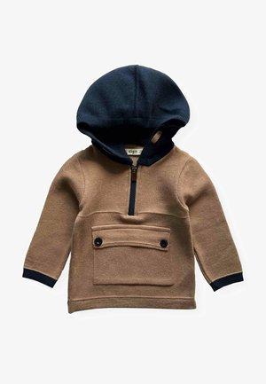 Hoodie - dark brown