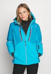 CMP - WOMAN JACKET FIX HOOD - Ski jacket - danubio - 0
