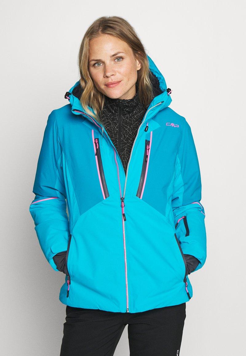 CMP - WOMAN JACKET FIX HOOD - Ski jacket - danubio