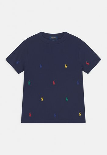 T-shirts print - newport navy