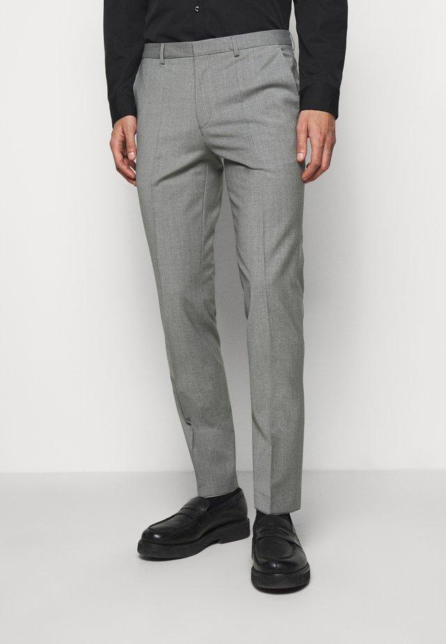 HESTEN - Oblekové kalhoty - dark grey