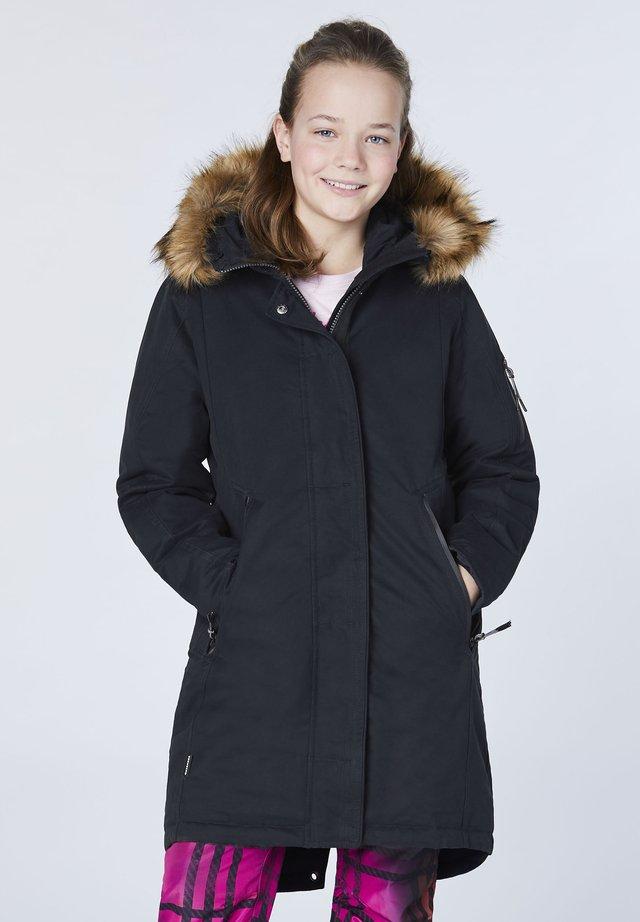 ATMUNGSAKTIV, WINDDICHT UND WASSERDICHT - Winter coat - deep black