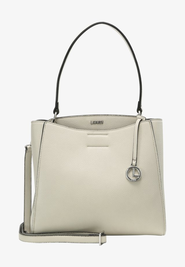 FABIENNE - Handbag - stone
