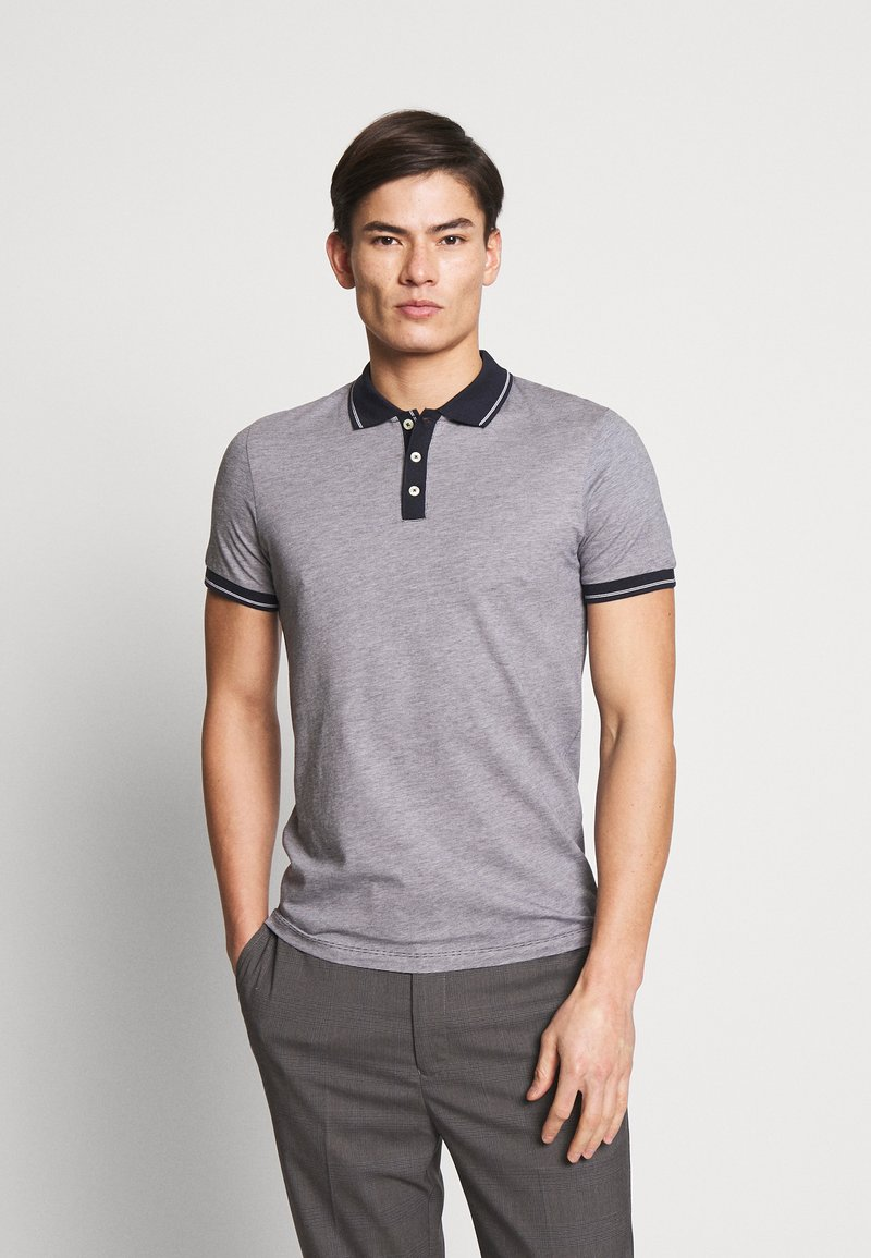 Selected Homme - SLHJOE - Polo shirt - sky captain/brigth white