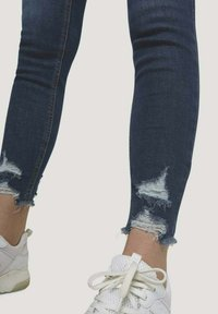 TOM TAILOR DENIM - Jeans Skinny Fit - used dark stone blue denim - 4
