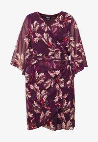 DRESS OPULENT - Denní šaty - vine