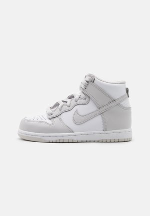 DUNK UNISEX - Korkeavartiset tennarit - white/vast grey