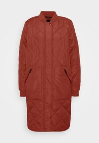 Selected Femme - SLFNATALIA QUILTED COAT - Bomber Jacket - smoked - 5