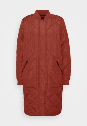 SLFNATALIA QUILTED COAT - Bomber bunda - smoked