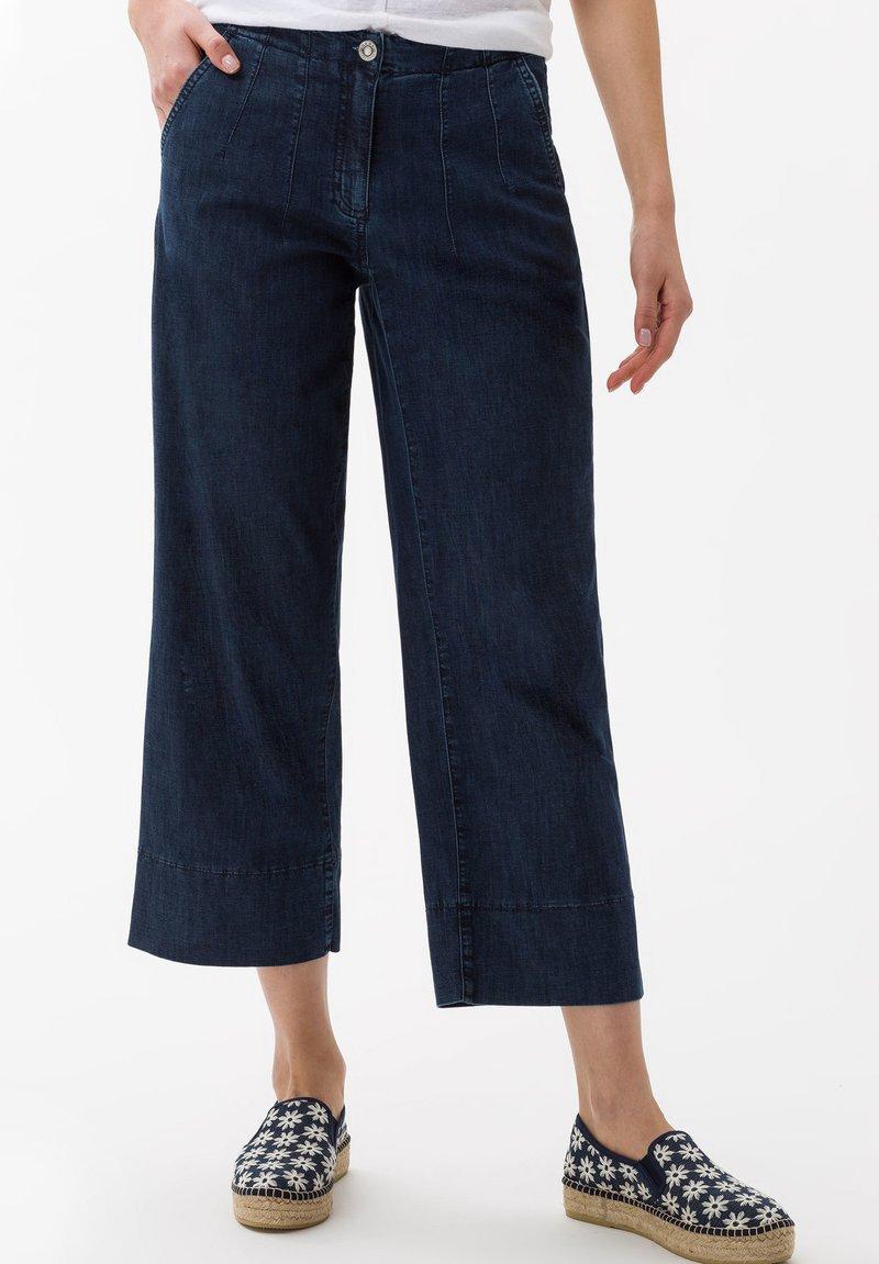 BRAX - STYLE MAINE - Flared Jeans - dark blue