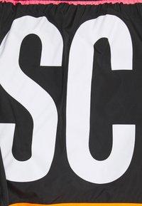 MOSCHINO SWIM - Swimming shorts - black/white - 2