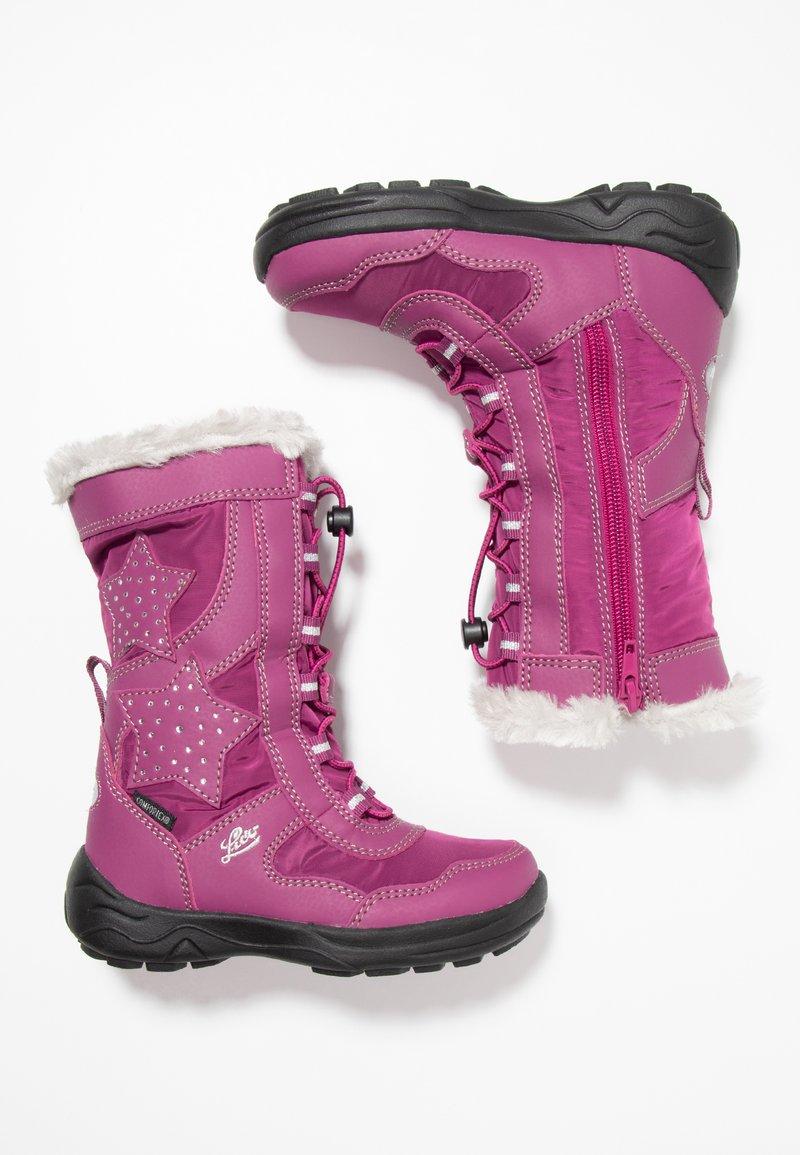LICO - CATHRIN - Vinterstøvler - pink/silber