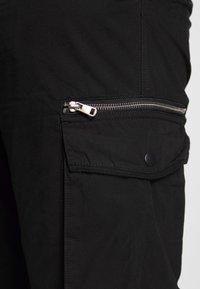 River Island - Cargo trousers - black - 3