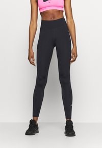 Nike Performance - ONE - Legginsy - black - 0