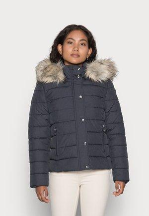 ONLLUNA QUILTED JACKET  - Winter jacket - india ink melange