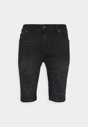 Jeans Short / cowboy shorts - washed black
