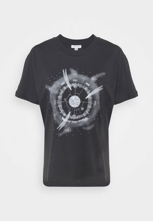 OUT OF WORLD TEE - Triko s potiskem - grey