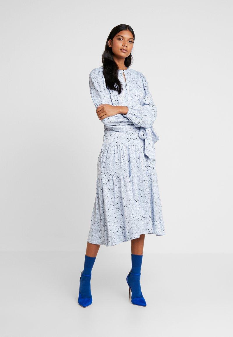 Custommade - TULLA - Day dress - kentucky blue