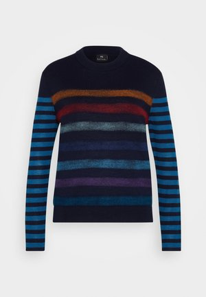 KNITTED JUMPER - Sweter - multicolour